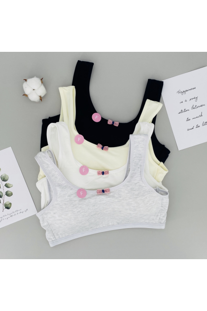 TC301 Cotton Camisole with Cup Stage 3